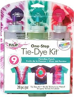 Tulip One-Step Tie Dye Paradise Punch 3 Color Kit, 2 Piece