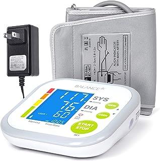 Blood Pressure Monitor Blood Pressure Cuff by GreaterGoods, Digital Upper Arm Cuff, BP Meter
