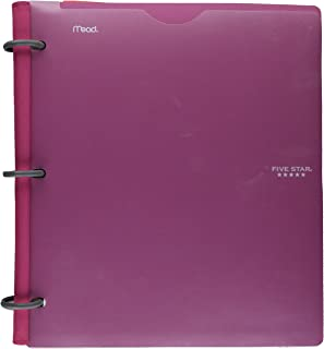 Five Star Flex Hybrid NoteBinder, 1 Inch, Customizable Cover, Color Will Vary (29176)