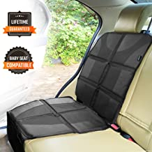 Sunferno Car Seat Protector – Protects Your Car Seat from Baby Car Seat Indents,..