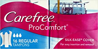 Carefree Tampons ProComfort Regular 16