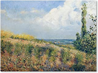 The Approaching Storm 1877 Artwork by Camille Pissarro, 14 by 19-Inch Canvas Wall Art