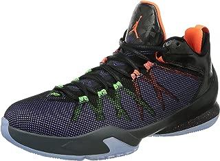Jordan Nike Men's CP3.VIII AE Black/Hypr Crmsn/Elctrc Grn/PRP Basketball Shoe 10.5 Men US