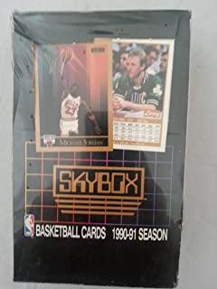 1990/91 Skybox Series 1 Basketball Wax Box [Toy]