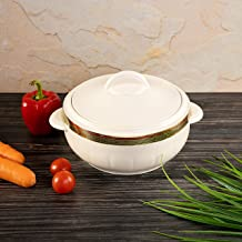 Royalford 1.2L Hot Pot Insulated Food Warmer - Thermal Casserole Dish | Double Wall Insulated Serving Dishes with Lids | T...