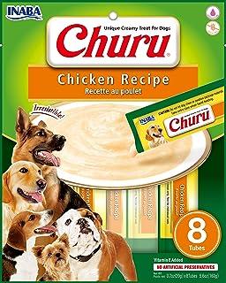 INABA Churu Chicken Recipe Treats for Dog, 8 Count 160 Grams