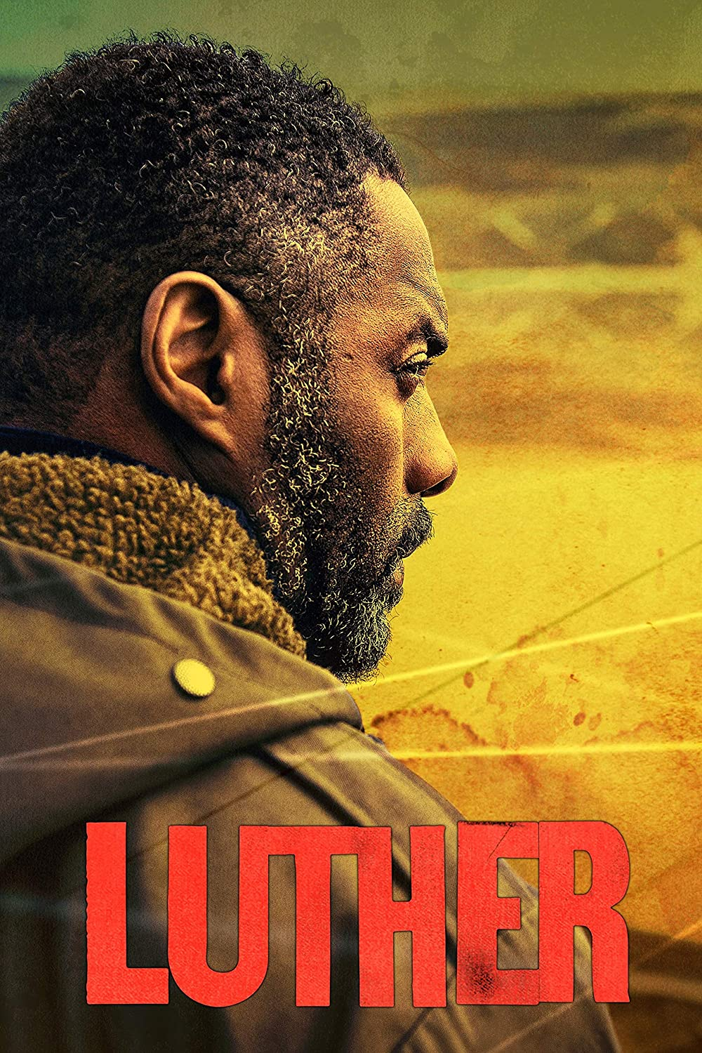 Black Creations Luther Movie Poster Canvas Picture Art Print Premium Quality A0 A1 A2 A3 A4 (A0 Canvas (30 40))