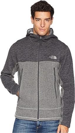 Asphalt Grey Sweater Texture Print/Monument Grey Sweater Texture