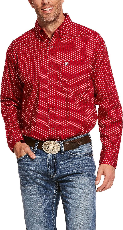 ARIAT Men's Danton Stretch Classic Fit Shirt