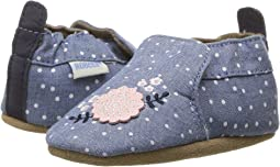 Robeez - Chambray Bouquet Soft Sole (Infant/Toddler)