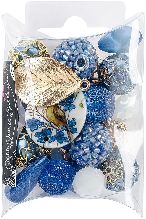 Jesse James 9433 Design Inspiration Beads-Lapis Blue