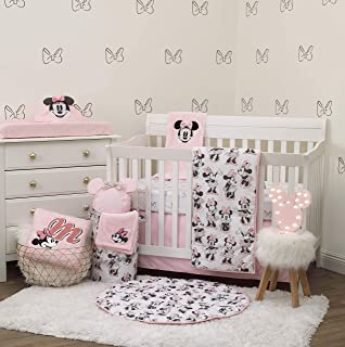 Disney Minnie Mouse 6 Piece Nursery Crib Bedding Set