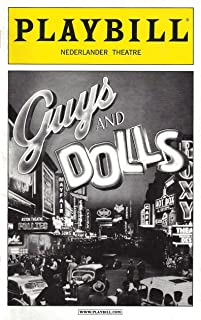 "Lauren Graham (Cast Signed)""GUYS & DOLLS"" Craig Bierko/Oliver Platt/Kate Jennings Grant 2009 Broadway Playbill"