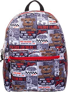 Five Nights at Freddy's All-Over Pizza Flyer Print 16 Backpack