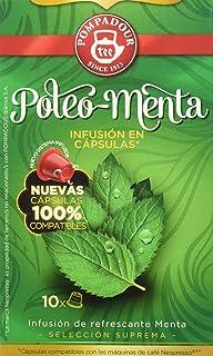 Pompadour - Poleo menta té - pack de 2 (total: 20 cápsulas)