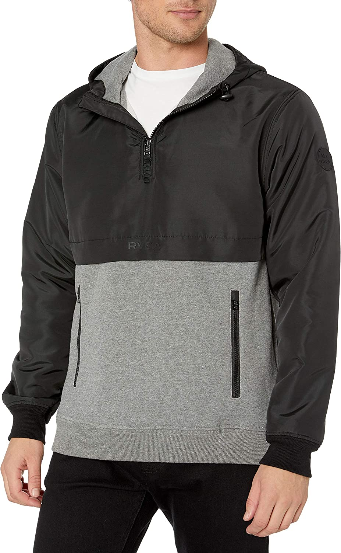 RVCA Men's Camden Lowest price challenge Anorak Fleece Jacket Louisville-Jefferson County Mall