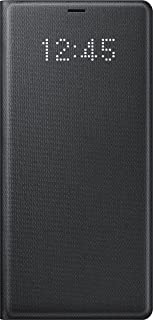 Samsung Genuine LED View Cover Flip Wallet Case Galaxy Note 8 / Note8 - Black (EF-NN950PBEGWW)