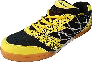 Aqua Sports Renault Unisex Black Badminton Shoes