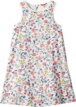 Floral Woven Trapeze Dress (Toddler/Little Kids/Big Kids)