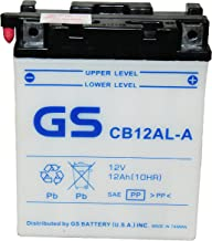 Best gs battery motorcycle Reviews
