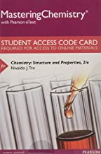 Mastering Chemistry with Pearson eText -- Standalone Access Card -- for Chemistry: Structure and Properties (2nd Edition)