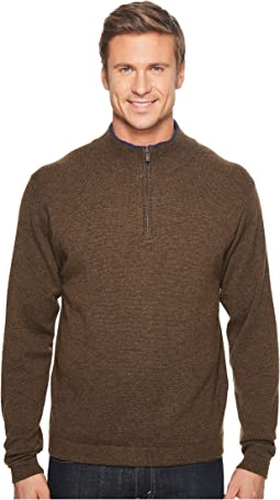 Lodge Qtr Zip Sweater