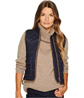 See by Chloe - Quilted Denim Vest