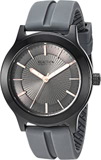 Kenneth Cole REACTION Men's 'Sport' Quartz Metal and Silicone Strap Casual Watch (RK50522002/01)