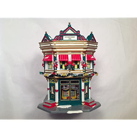 Department 56 Christmas Sweets AND Sidewalk Sweets Cart NEW