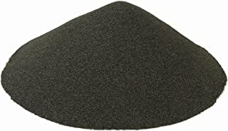 BLACK BEAUTY Abrasive Blast Media Extra Fine Abrasive 30/60 Mesh Size for use in Sandblast Cabinet - 50 LBS