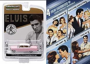 Elvis Presley Musicals Pink Cadillac Set Girl Happy / Kissin' Cousins / Live a Little, Love a Little / Tickle Me 4 Film Favorites ELVIS PRESLEY'S 1955 PINK CADILLAC FLEETWOOD SERIES