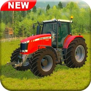 Real Tractor Farming Games Thresher Simulator 2018