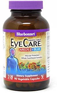 Bluebonnet Nutrition Targeted Choice Eye Care Areds 2, Blue, 90 Count