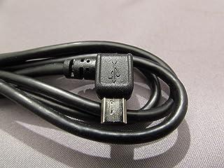 Cable USB para TOMTOM GPS con conector de 90 ° a la energía y conectar a un PC a través de USB para navegación Tom Tom Serie ONE XL HD Traffic Regional Europa, Go Go Serien 520 720 740 750 Ir 940 950 920 Ir vivo XL XL IQ Routes VIVOS .. .