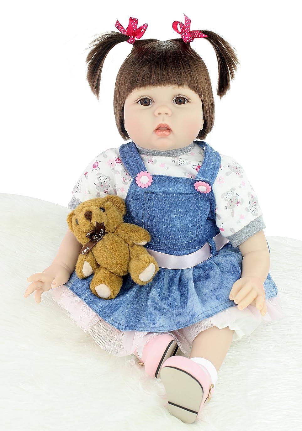 ハンマー草写真のFunny House 55cm リボーンドール ベビードール きせかえ人形 ドール お人形 誕生日プレゼント 新年プレゼント