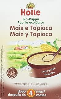 Holle Papilla de Maíz y Tapioca (+ 4 meses) - 6 Paquetes de