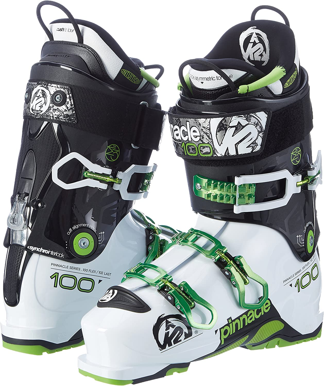 K2 Skis Mens Pinnacle 100/HV 102/mm Pinnacle 100 HV Multicoloured Ski Boot 102mm Men