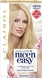 Clairol Nice'n Easy Permanent Hair Color, 11 Ultra Light Blonde, Pack of 1