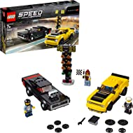 LEGO Speed Champions 2018 Dodge Challenger SRT Demon and 1970 Dodge Charger R/T 75893 Building...