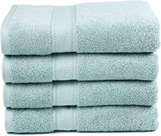 Ariv Collection Premium Bamboo Cotton Bath Towels – Natural, Ultra Absorbent and..