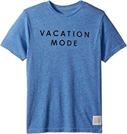 Vacation Mode Short Sleeve Tri-Blend Tee (Big Kids)