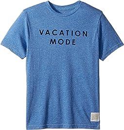 Vacation Mode Short Sleeve Tri-Blend Tee (Big Kids)