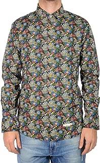 negozio online a1c77 f4458 ALESSANDRO LAMURA Camicia Camicia Uomo Multicolor Acquamarina ...