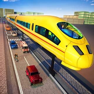 Gyroscopic Train Simulator 2019: Modern Train Driving and Futuristic Train Games for Kids FREE