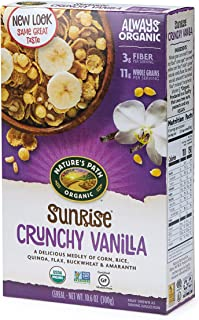 Sponsored Ad - Nature's Path Sunrise Crunchy Vanilla Cereal, Healthy, Organic, Gluten-Free, 10.6 Ounce Box (Pack of 12)