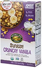 Nature's Path Sunrise Crunchy Vanilla Cereal, Healthy, Organic, Gluten-Free, 10.6 Ounce Box (Pack of 12)
