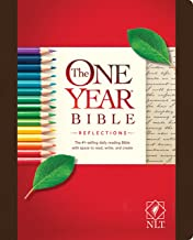 The One Year Bible Reflections NLT (Hardcover)