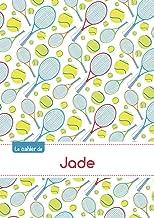 Le cahier de Jade - Blanc, 96p, A5 - Tennis