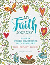 My Faith Journey: 52 Week Guided Devotional with Scripture (Quiet Fox Designs) Lined Journal Filled with Spiritual Activities, Ready-to-Color Drawings, Uplifting Messages, & Insightful Prompts