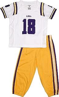 FAST ASLEEP LSU Tigers Away Uniform Pajama Set New
